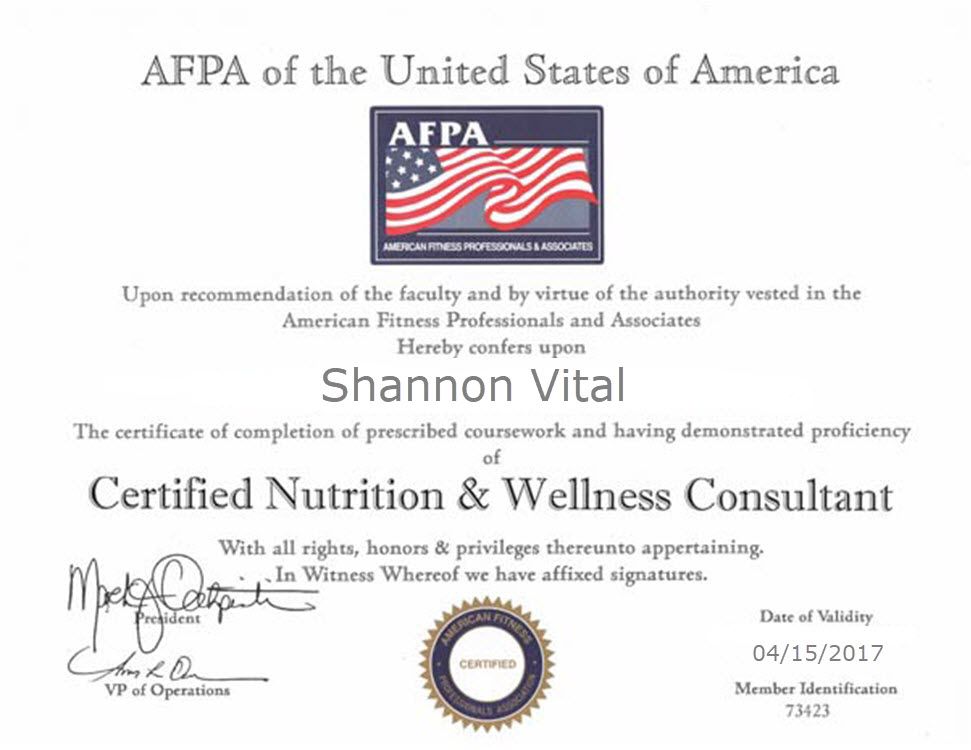 About – Health & Wellness Lifestyle Consultant